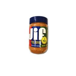 Jif extra crunchy peanut butter 454gm RHF