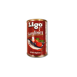 Ligo sardines in tomato sauce chili added 155gm RHF