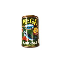 Mega ardines in tomato sauce 155gm RHF