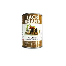 Jack brand mackerel canned fish 425gm RHF