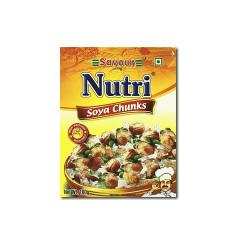 Savour nutri soya chunks 100gm RHF