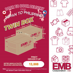 EMB Cargo Twin Box Bound to Manila