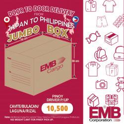 EMB Cargo JUMBO Box Bound to Cavite/Bulacan/Rizal/Laguna